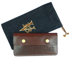 The OLD RED Genuine Latigo Leather Wallet