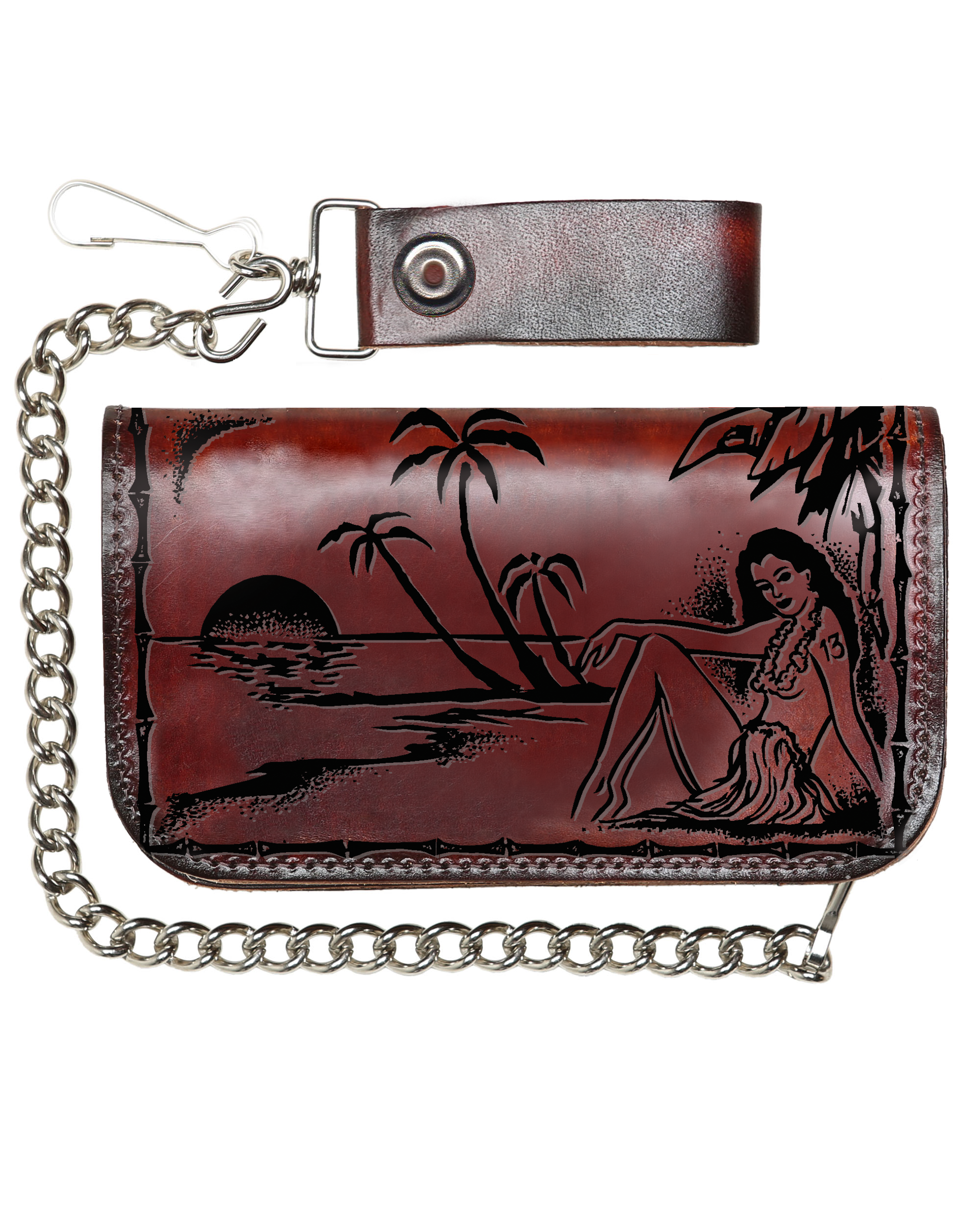 The ALOHA Embossed Wallet
