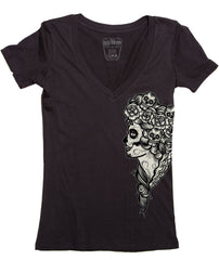 The LADY DEATH V-Neck Tee