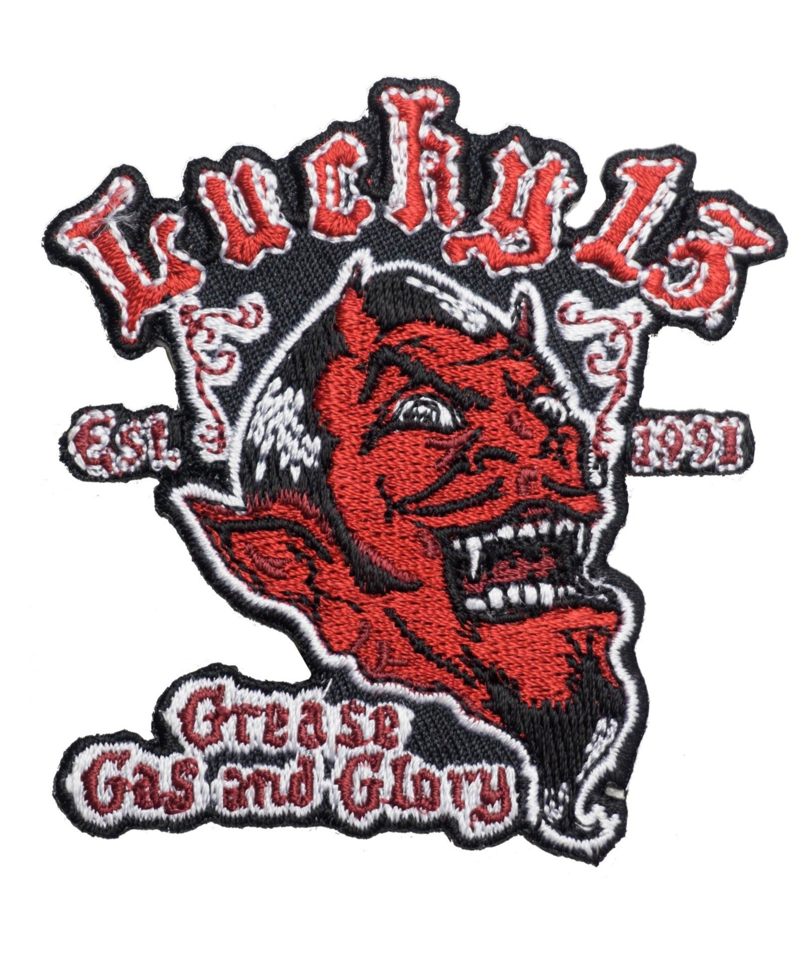The GREASE, GAS & GLORY Patch