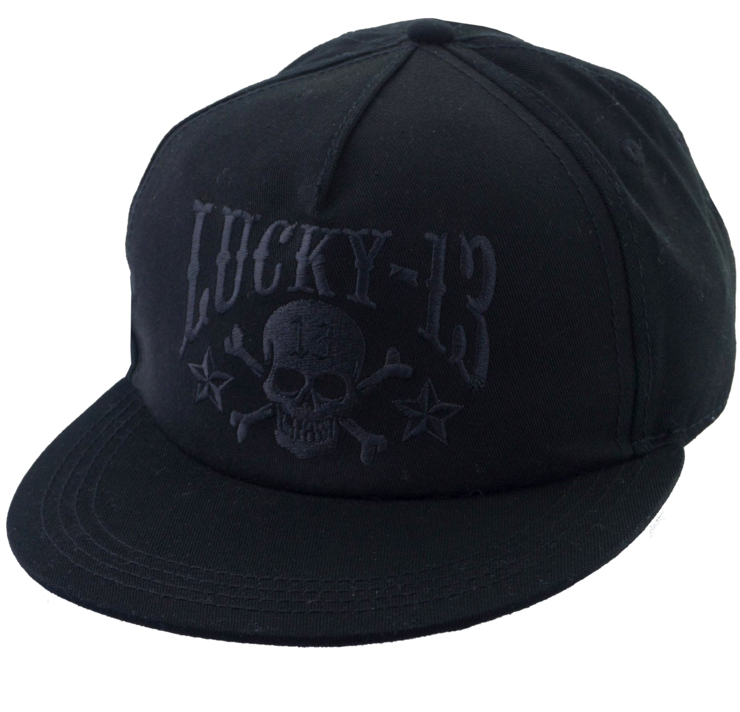 The SKULL STARS 6 Panel Fitted Cap