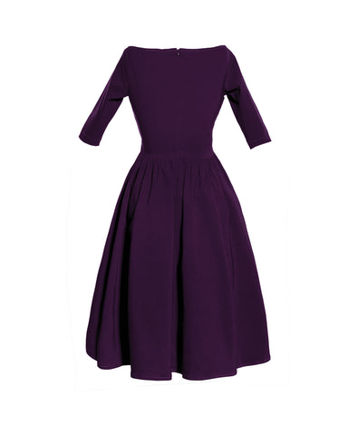 The LOREN Dress - PLUM