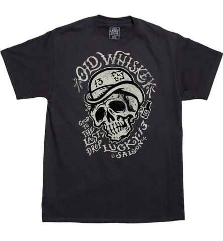 The OLD WHISKEY Tee - SIZES SMALL & MEDIUM ONLY!