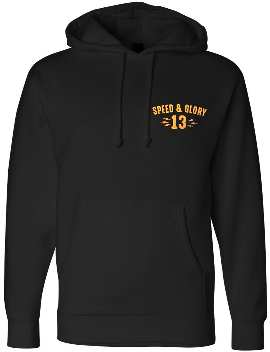 The PANTHER HEAD Heavyweight Pullover Hoodie