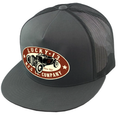 The ROADSTER Snapback Trucker Cap - CHARCOAL