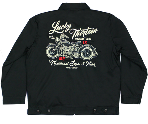 The VINTAGE IRON Jacket **NEW**