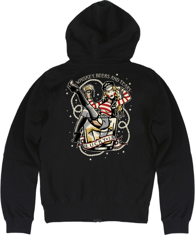 The WHISKEY BEERS & TEARS Sweatshirt