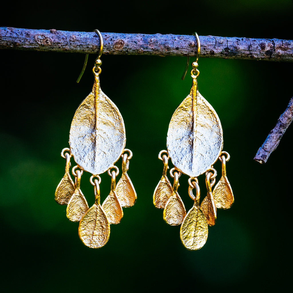 Bahamian Bay Earrings - Gold Plated