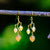 Eucalyptus Earrings - Gold Plated