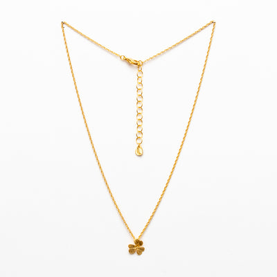 Clover Necklace - Gold Plated