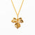 Petite Herb Necklace - Gold Plated