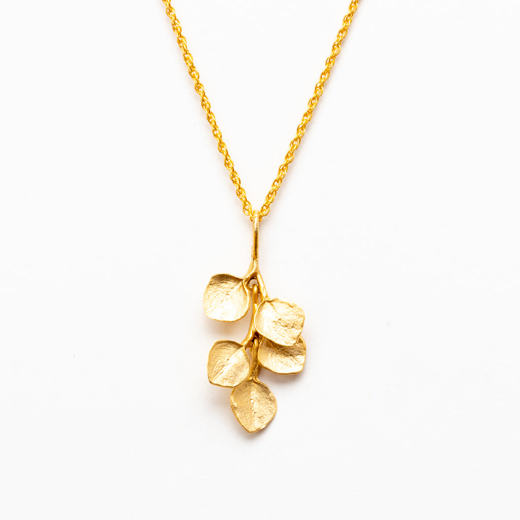 Survivor Tree Necklace - Gold Plated