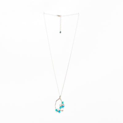 Drift Away Necklace - Silver