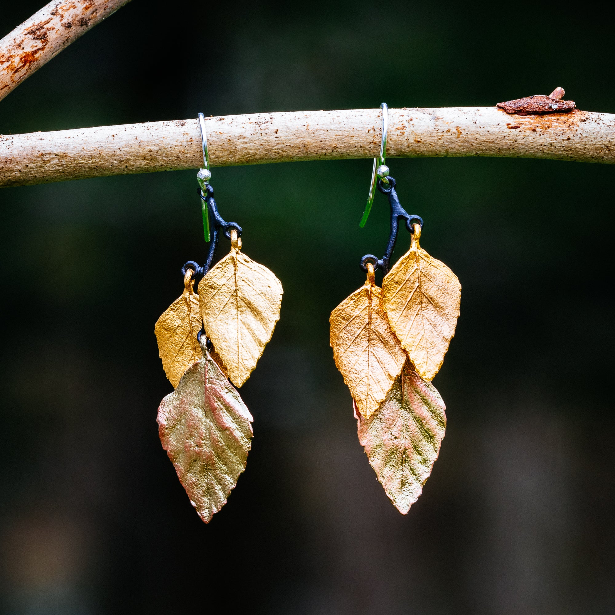 Autumn Birch Earrings