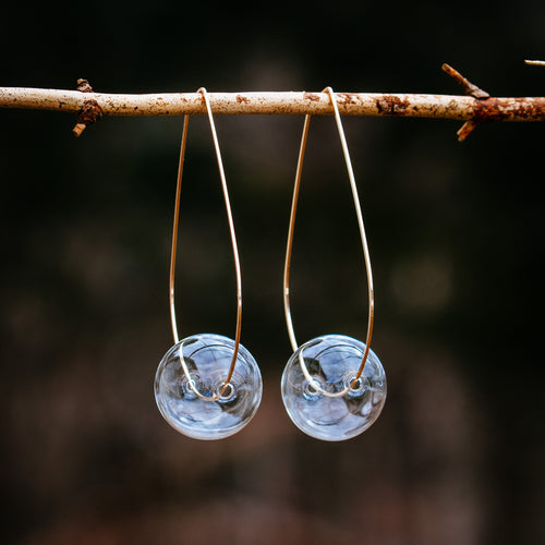 Glass Ball Earrings