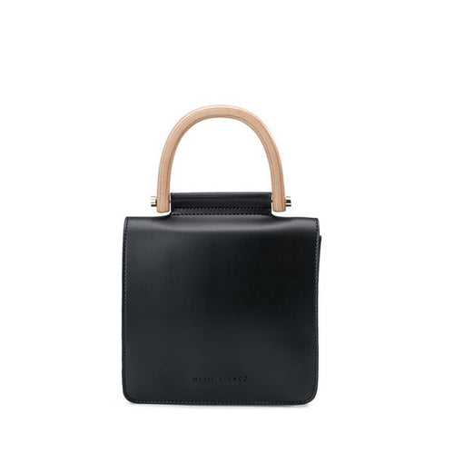 Handbag with Bamboo Handle