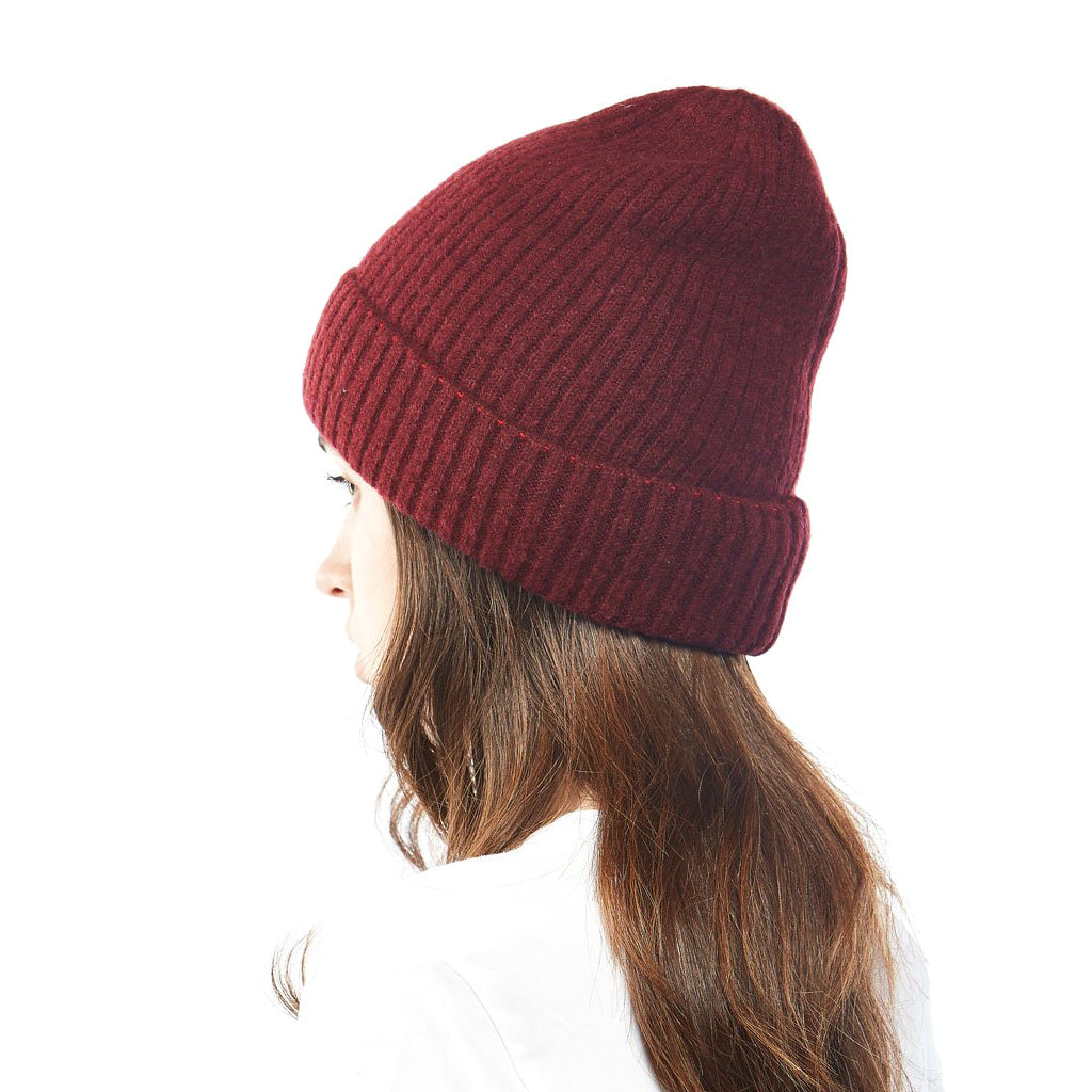 Cashmere Blended Knit Beanie