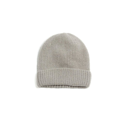 Cashmere Blended Waffle Knit Beanie