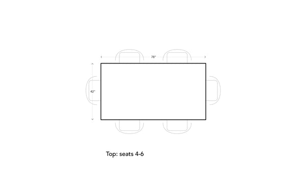 2.0  Rectangular Table