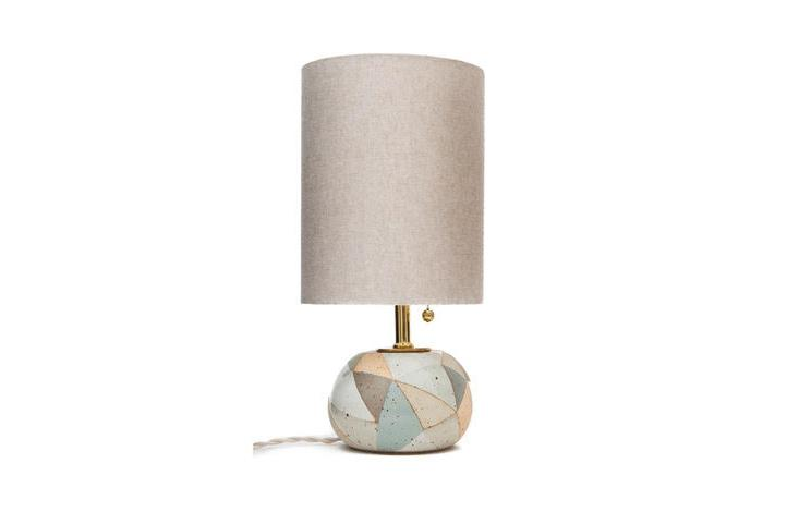 Striped Round Lamp