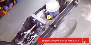Sebring pedal boxes are back.