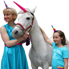 Annie, Bee and a Real Unicorn by Brooklyn Owl
