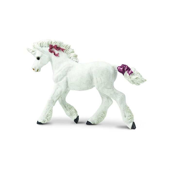 Pink Baby Unicorn Figurine by Safari