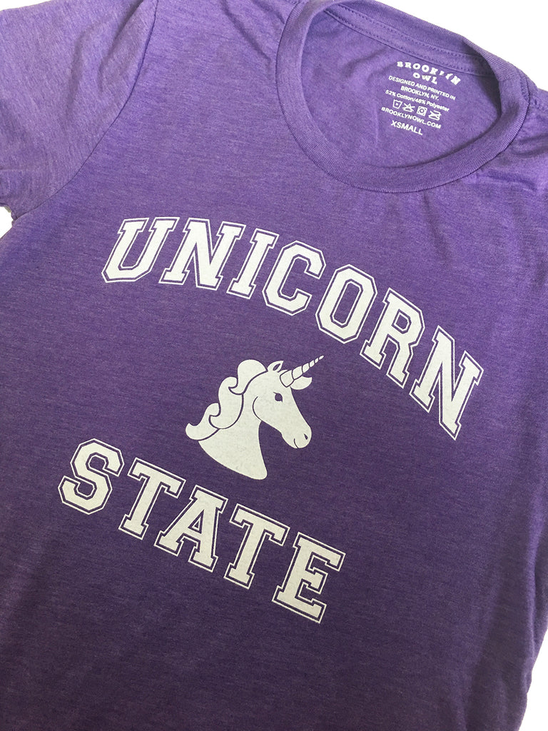 Unicorn State T-Shirt - Adults