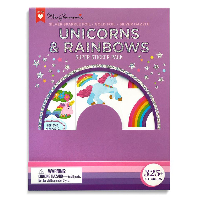 Unicorns & Rainbow Sticker Pack Mrs.G