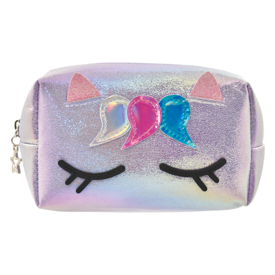Unicorn Iridescent Small Cosmetic Bag