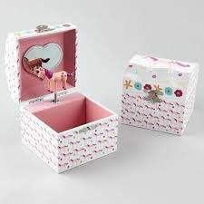 Unicorn Jewelry Music Box  by Floss & Rock