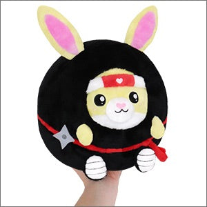 Undercover Bunny in Ninja Squishable