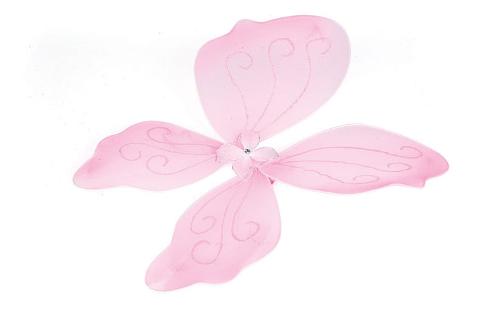 Pink Fairy Wings by Jack rabbit creations