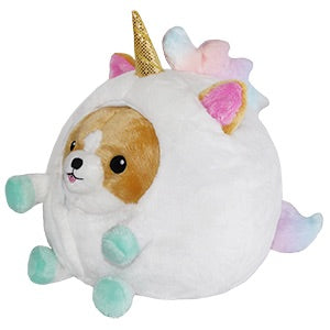 Undercover Corgi In Unicorn Squishable