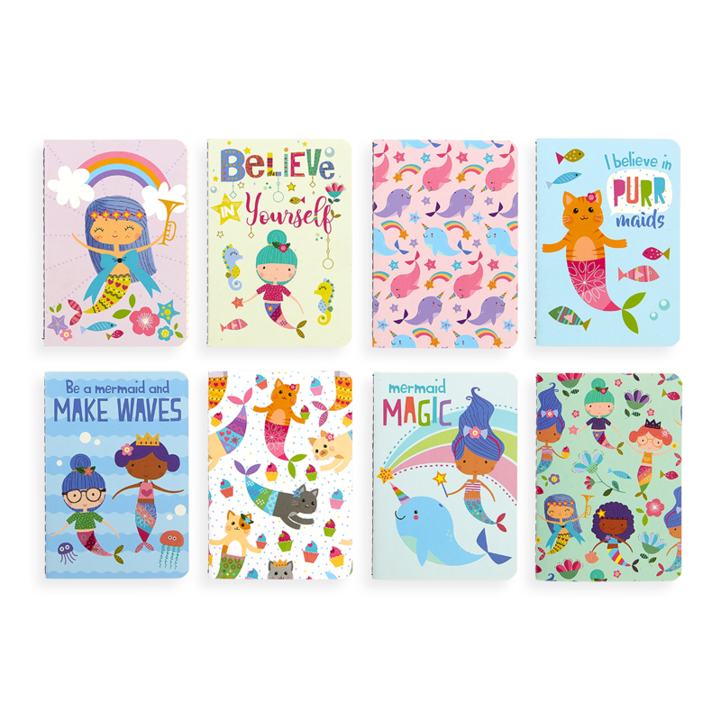 Mermaid Magic Mini Journal Notebook by OOLY misc colors