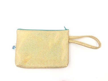 Gold Sparkle Clutch Purse by Brooklyn Owl
