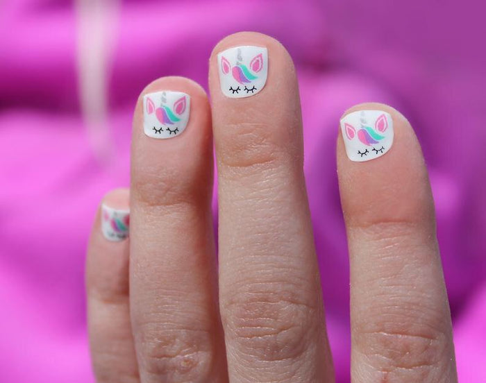 Unicorn Mini Nail Wrap Set