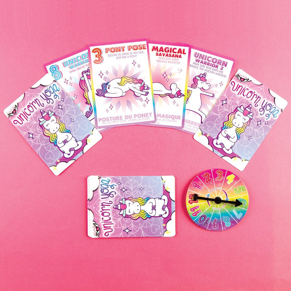 Unicorn Yoga Card Game