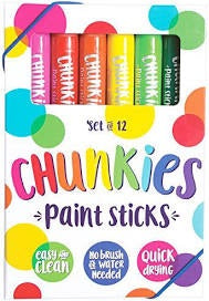 Chunkies Paint Sticks 12 pack - OOLY