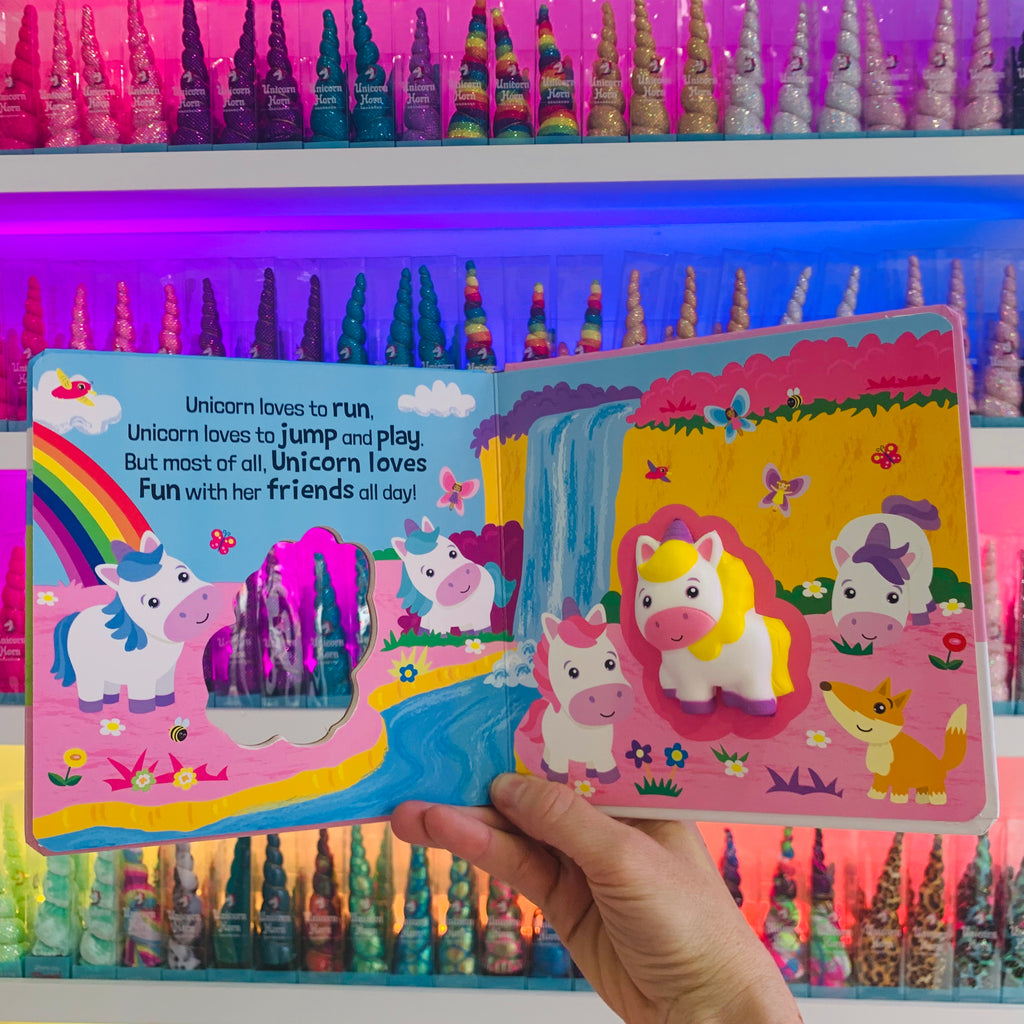 Squishy Squashy Unicorn Board Book by IPG