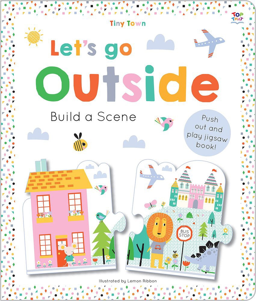 Tiny Town - let's go outside book by IPG