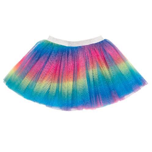 Rainbow Dust Sparkle Tutu Skirt by Sweet Wink