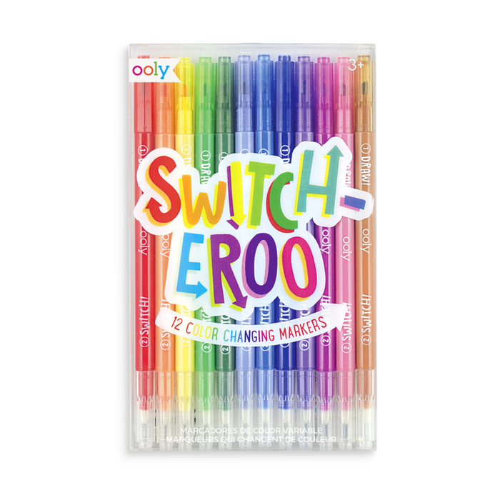 Switch-eroo Color Changing Markers - OOLY
