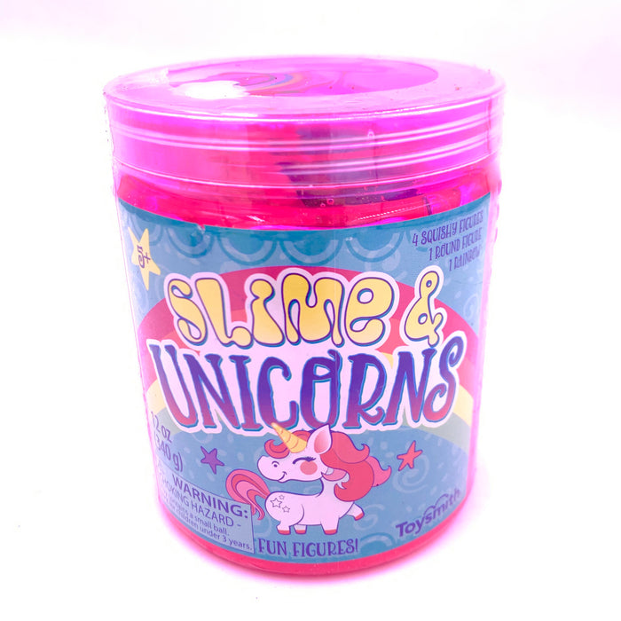Slime and Unicorn Tub with Toys by Toysmith