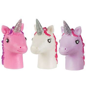 Unicorn Finger Puppets 4 Pack by Toysmith