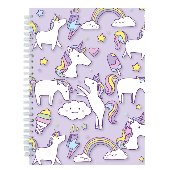 Unicorn wishes 3D Lenticular Journal Notebook