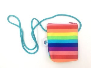 Rainbow Coin Purse by Brooklyn Owl