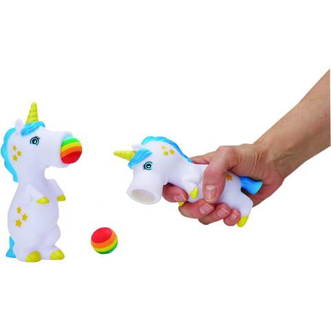 Unicorn Pop Shot Toy by Streamline