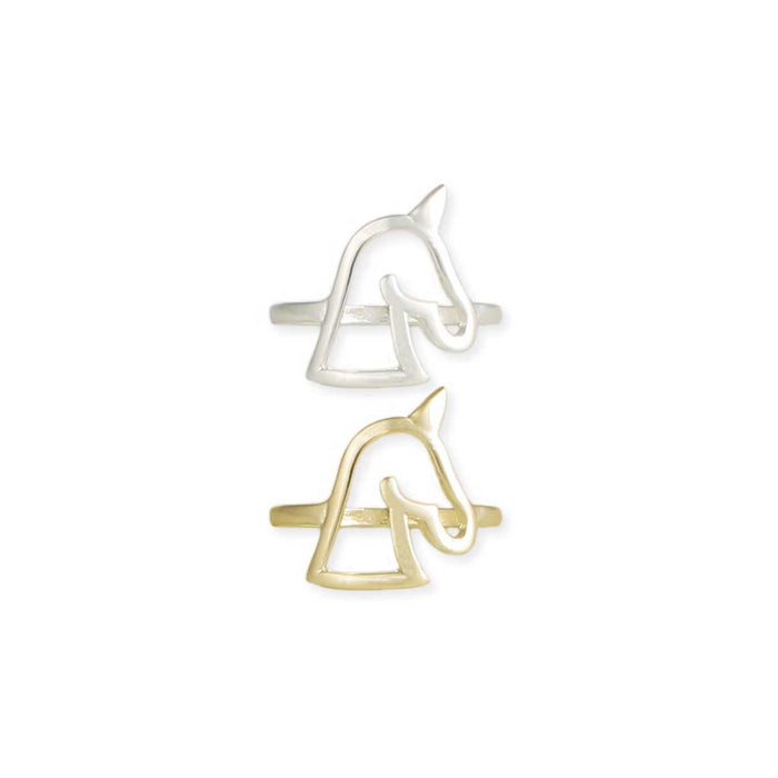 Unicorn outline ring - ZAD