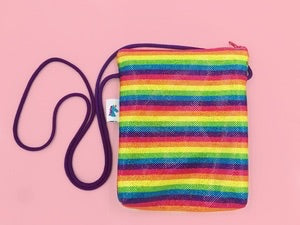 Rainbow Sparkle Cross Body Purse by Brooklyn Owl